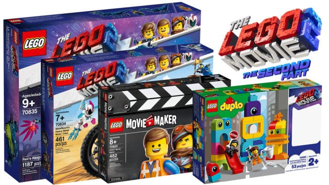 The LEGO Movie 2: Alle Sets