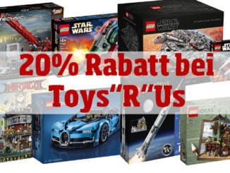 Toys'R'Us LEGO Angebote 20%