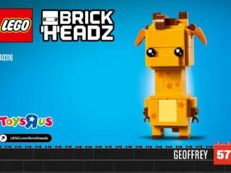 LEGO 40316 BrickHeadz Nr. 57: Geoffrey