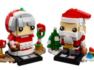 LEGO 40274 Mr. & Mrs. Claus BrickHeadz