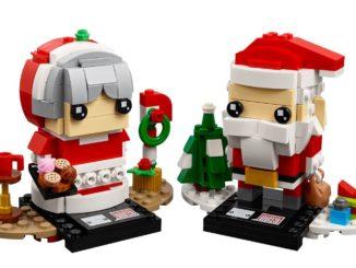 LEGO 40274 Mr. & Mrs. Claus BrickHeadz