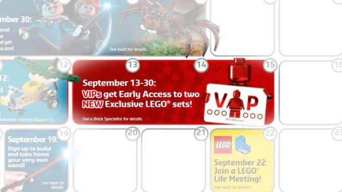 LEGO 75222 VIP Vorverkauf vom 13. bis 30. September 2018
