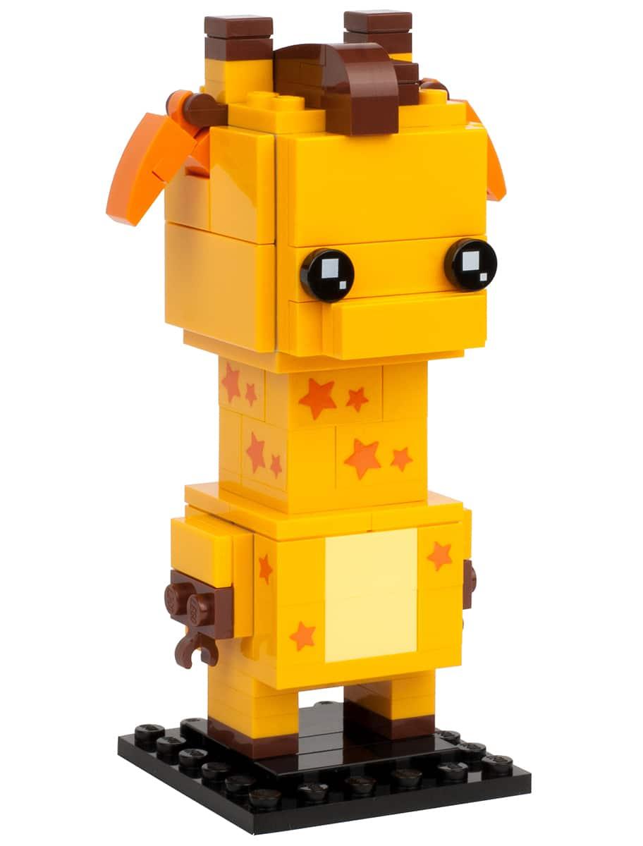 LEGO BrickHeadz 40316 Geoffrey die Giraffe