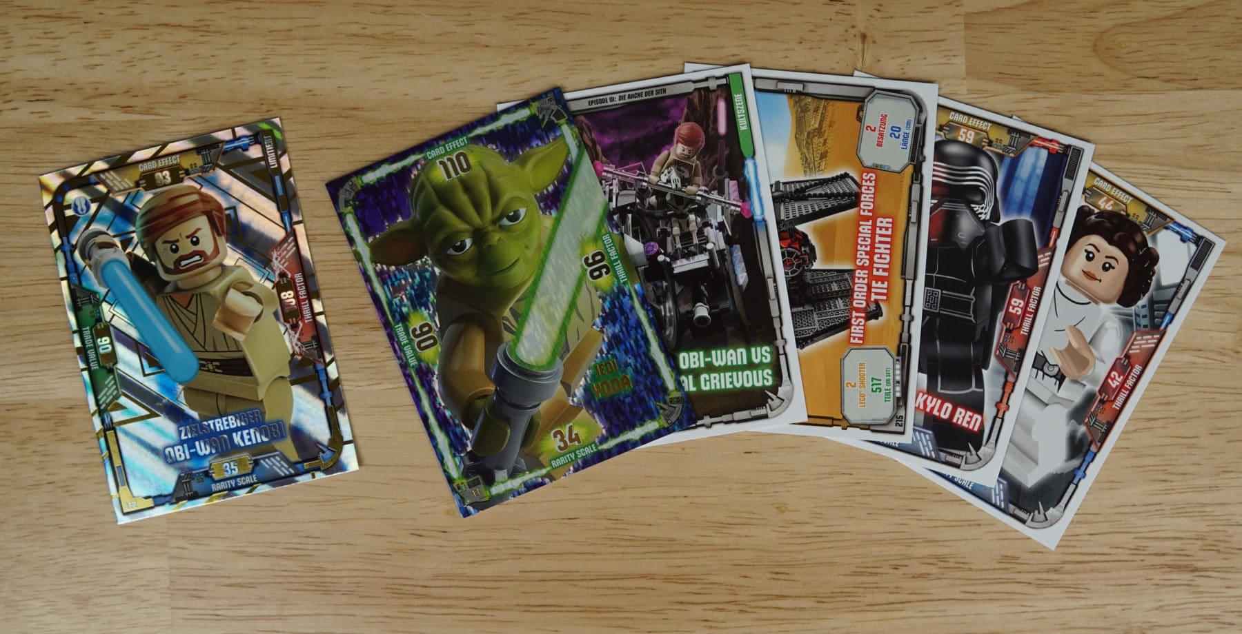 LEGO Star Wars Magazin #39: Enthaltene Sammelkarten