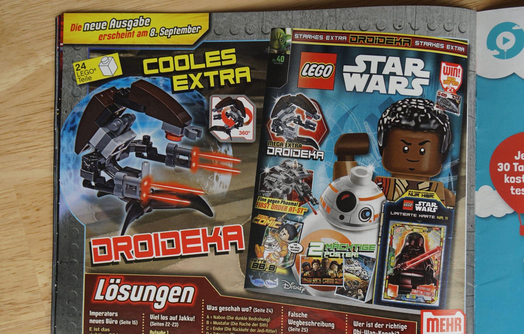 LEGO Star Wars Magazin #40 Vorschau