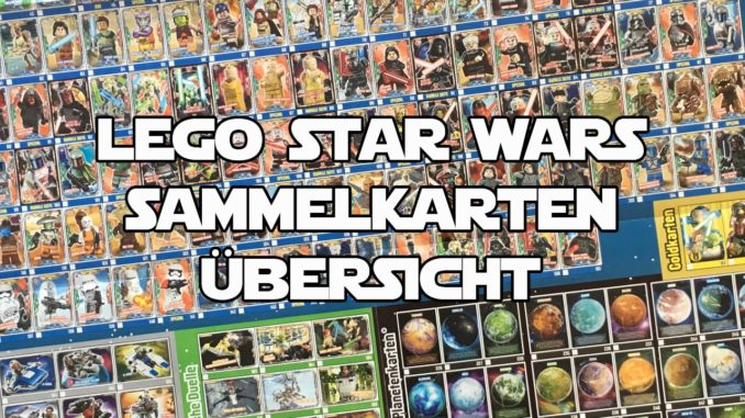 LEGO Star Wars Sammelkarten: Die Trading Card Collection Übersicht