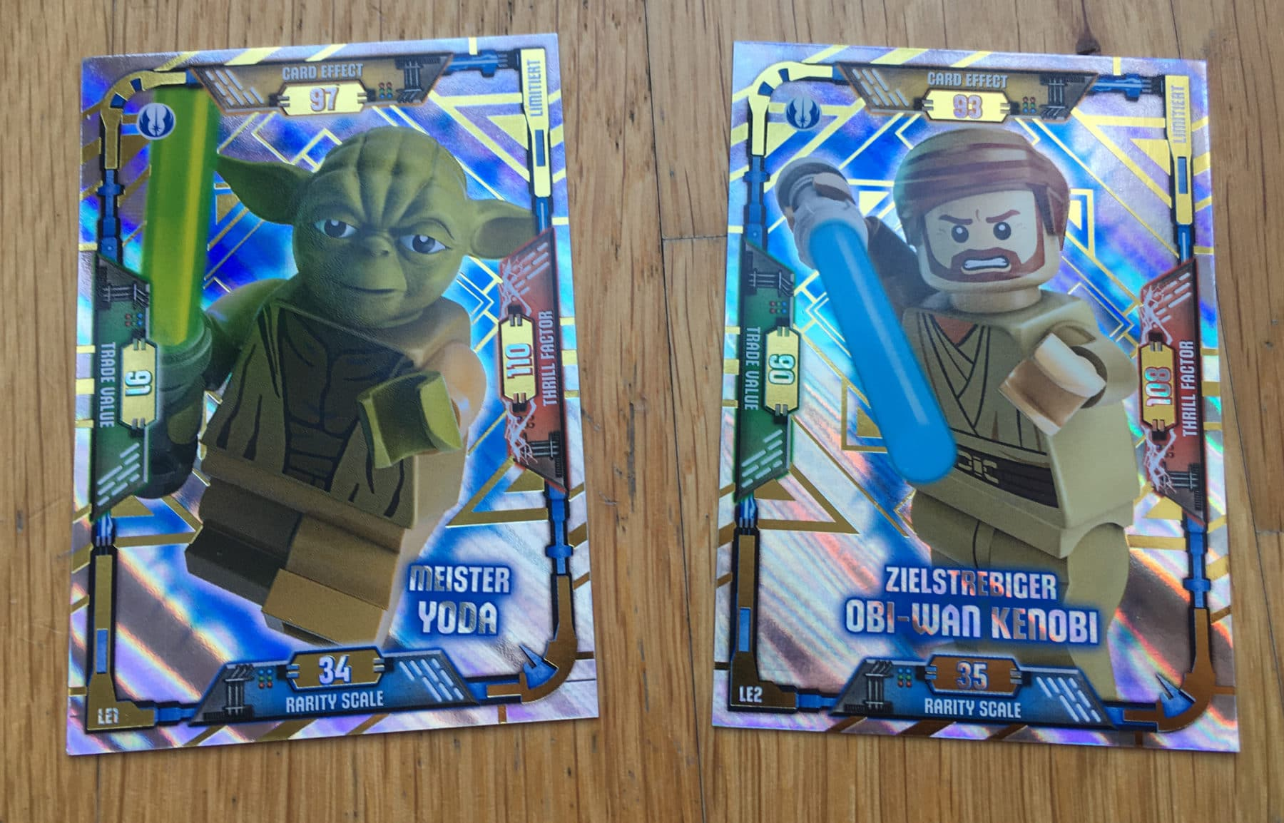 LEGO Star Wars Sammelkarten: Limited Edition Karten