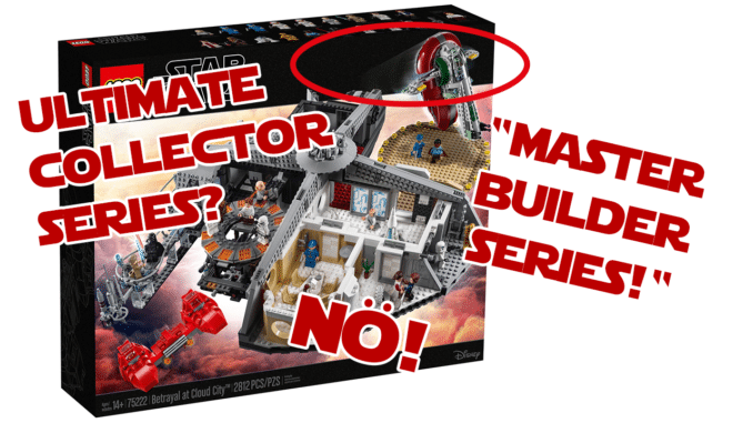 LEGO Ultimate Collector Series vs. Master Builder Series