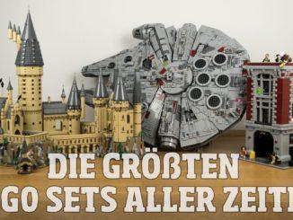 Die größten LEGO Sets aller Zeiten