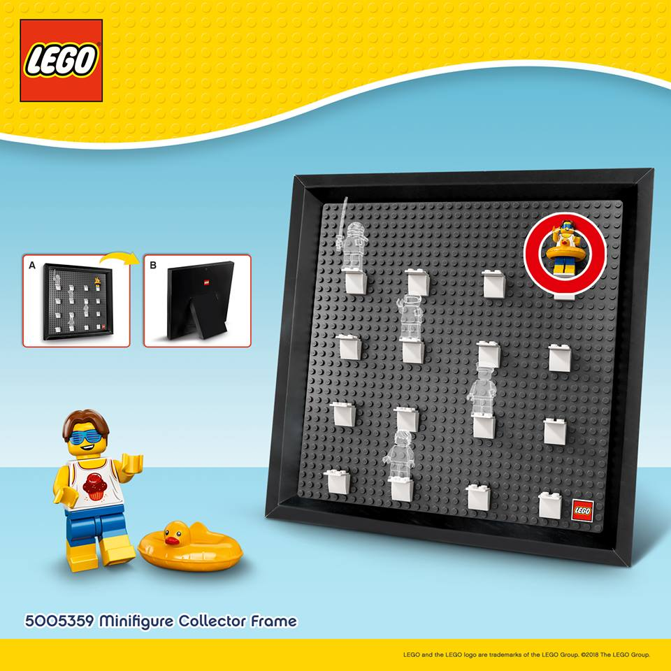 LEGO 5005359 Minifiguren Rahmen als Gratiszugabe im LEGO Online Shop