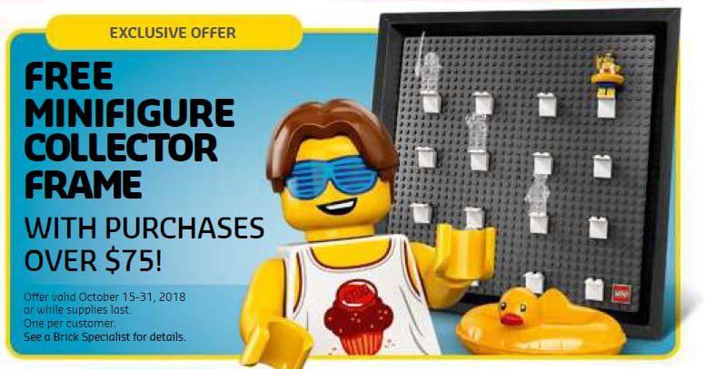 LEGO 5005359 Figurenrahmen