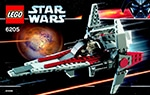 LEGO 6205 V-Wing Fighter