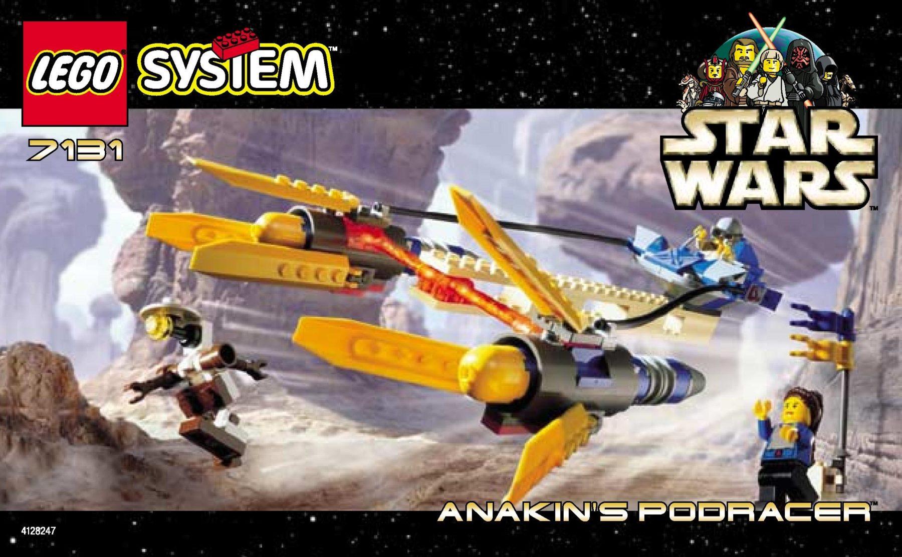 LEGO 75258 wird eine Neuauflage von Anakins Podracer (7131)