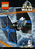 LEGO 7146 TIE Fighter