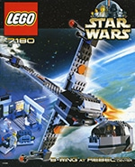 LEGO 7180 B-Wing at Rebel Control Center