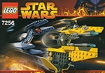 LEGO 7256 Jedi Starfighter and Vulture Droid