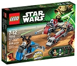 LEGO 75012 BARC Speeder with Sidecar
