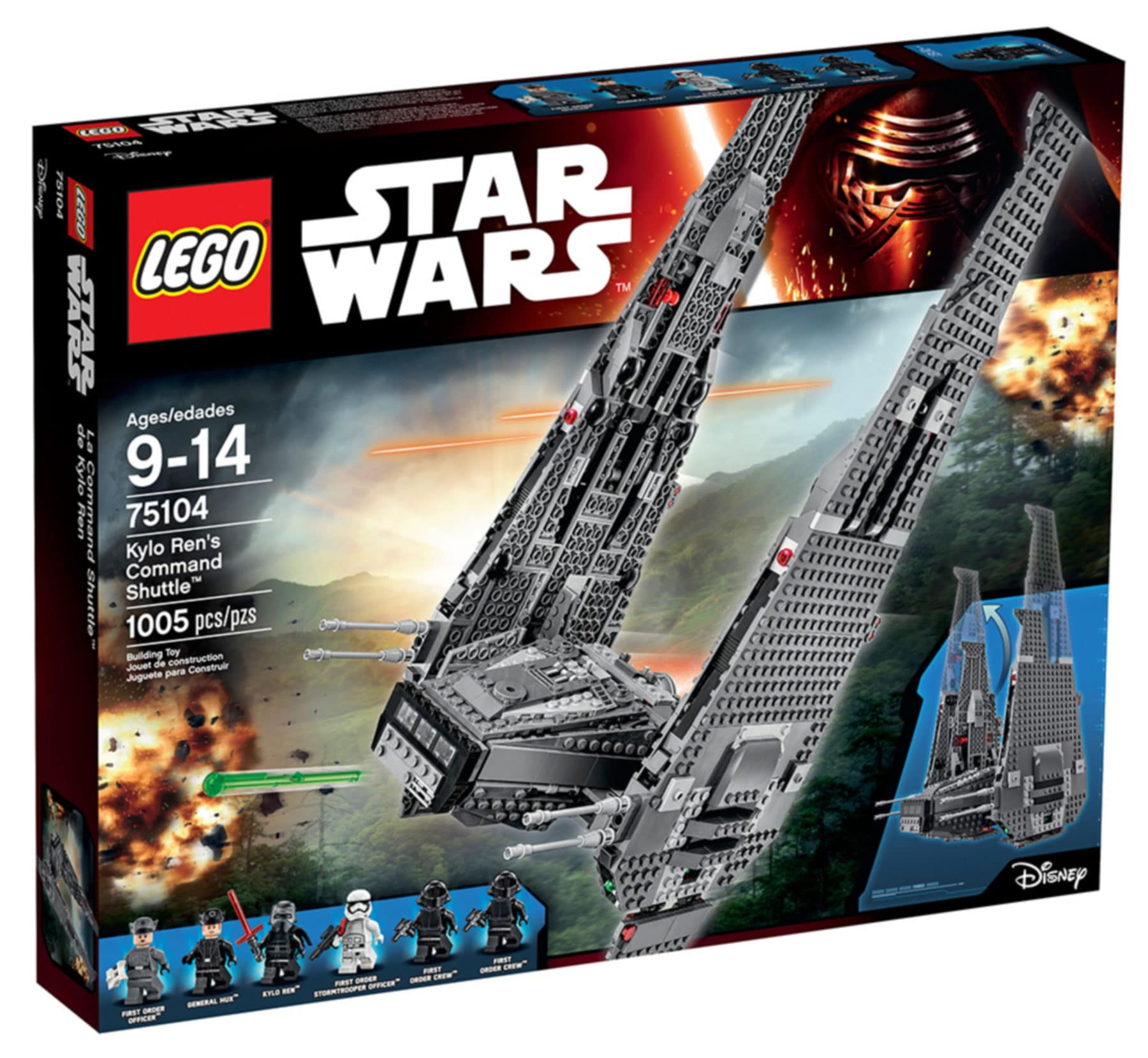 LEGO Star Wars 75104 Kylo Rens Shuttle