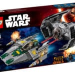 LEGO 75150 Vader's TIE Advanced vs A-Wing von 2016