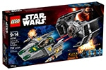 LEGO 75150 Vader's TIE Advanced vs A-Wing Starfighter