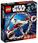 LEGO 75191 Jedi Starfighter with Hyperdrive Ring