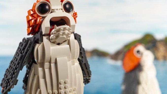LEGO 75230 Porg vorgestellt