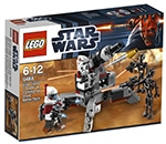 LEGO 9488 Elite Clone Trooper & Commando Droid Battle Pack