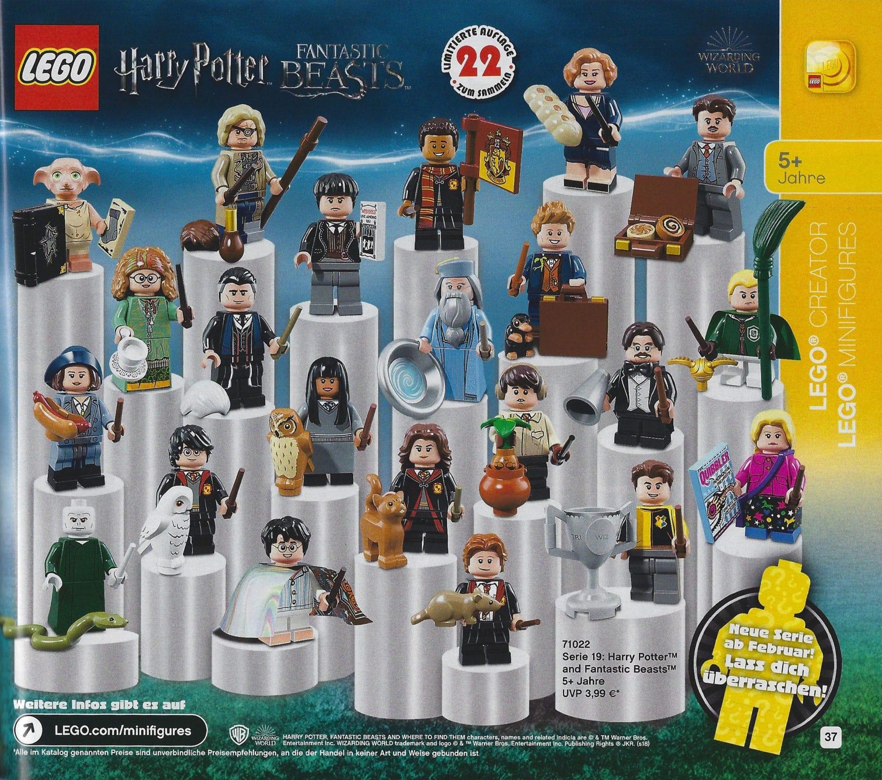 LEGO Weihnachtskatalog 2018: Neue Minifiguren Serie angekündigt
