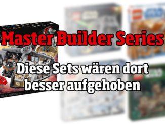 LEGO Master Builder Series: Diese Sets wären dort besser aufgehoben