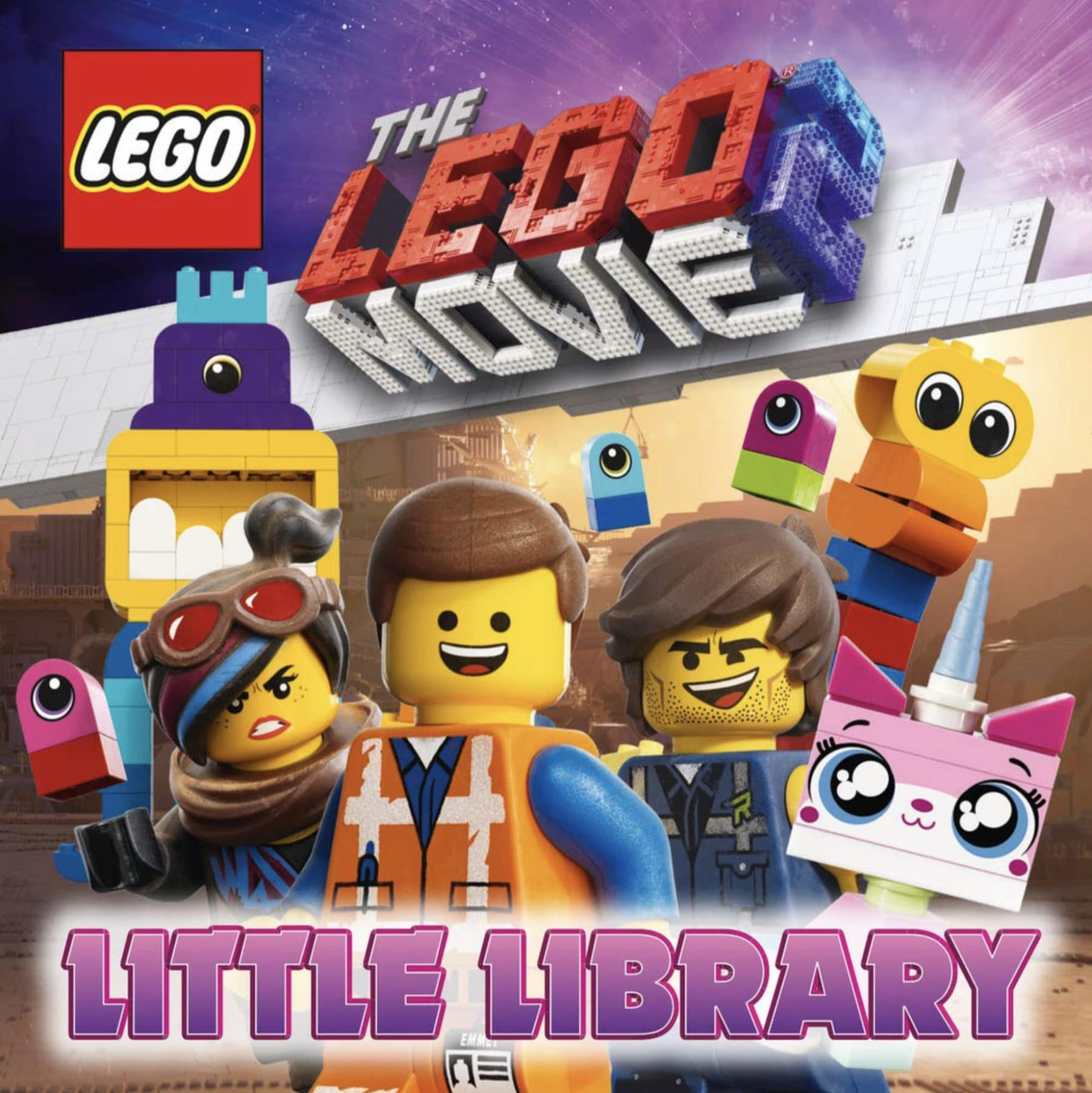 The LEGO Movie 2 Little Library Cover mit Rex Dangervest