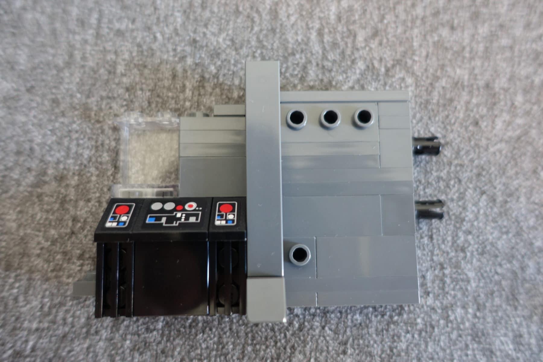 Bedienkonsole im LEGO MOC des Imperial Star Destroyers