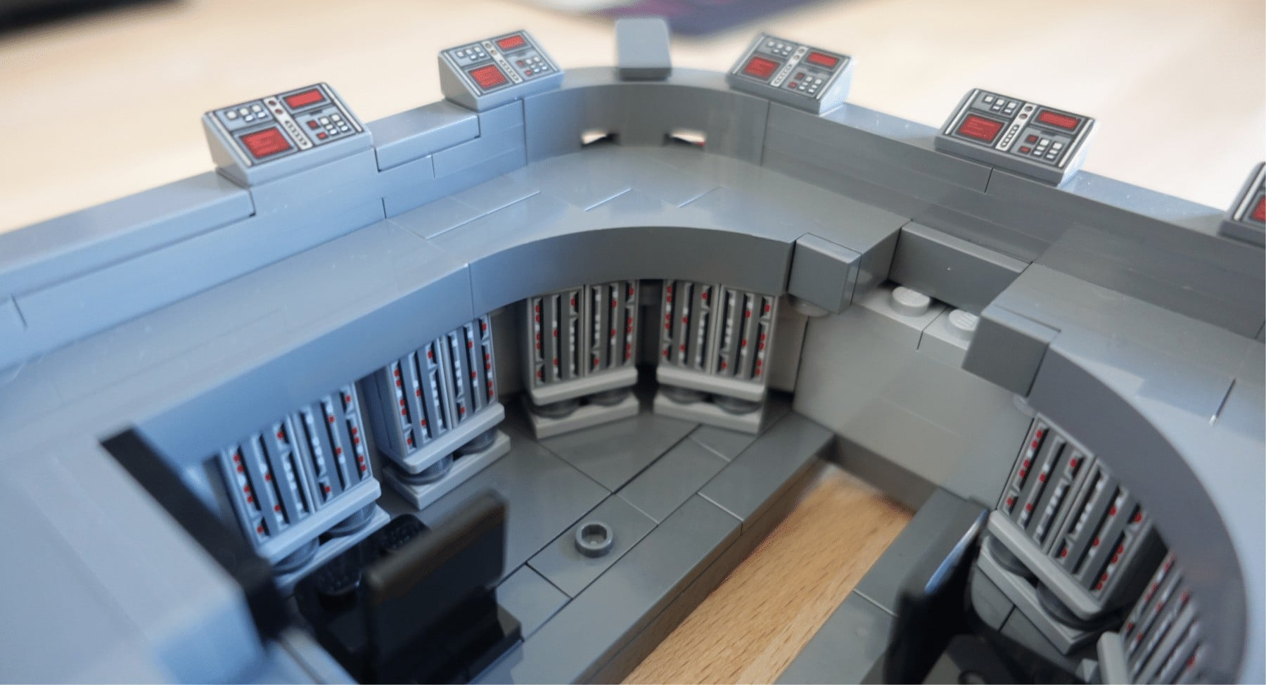 Brückenraum des Imperial Star Destroyers