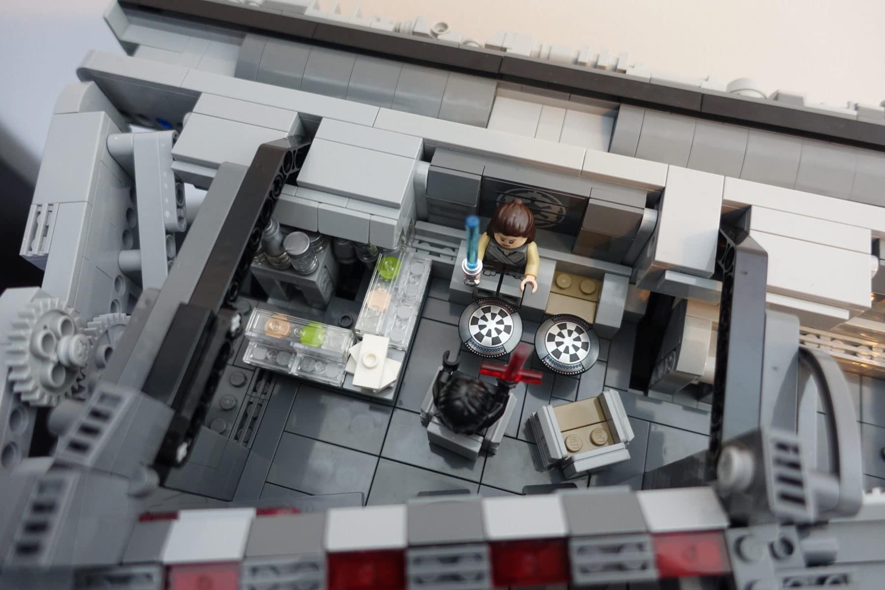 Kantine im LEGO MOC des Imperial Star Destroyers