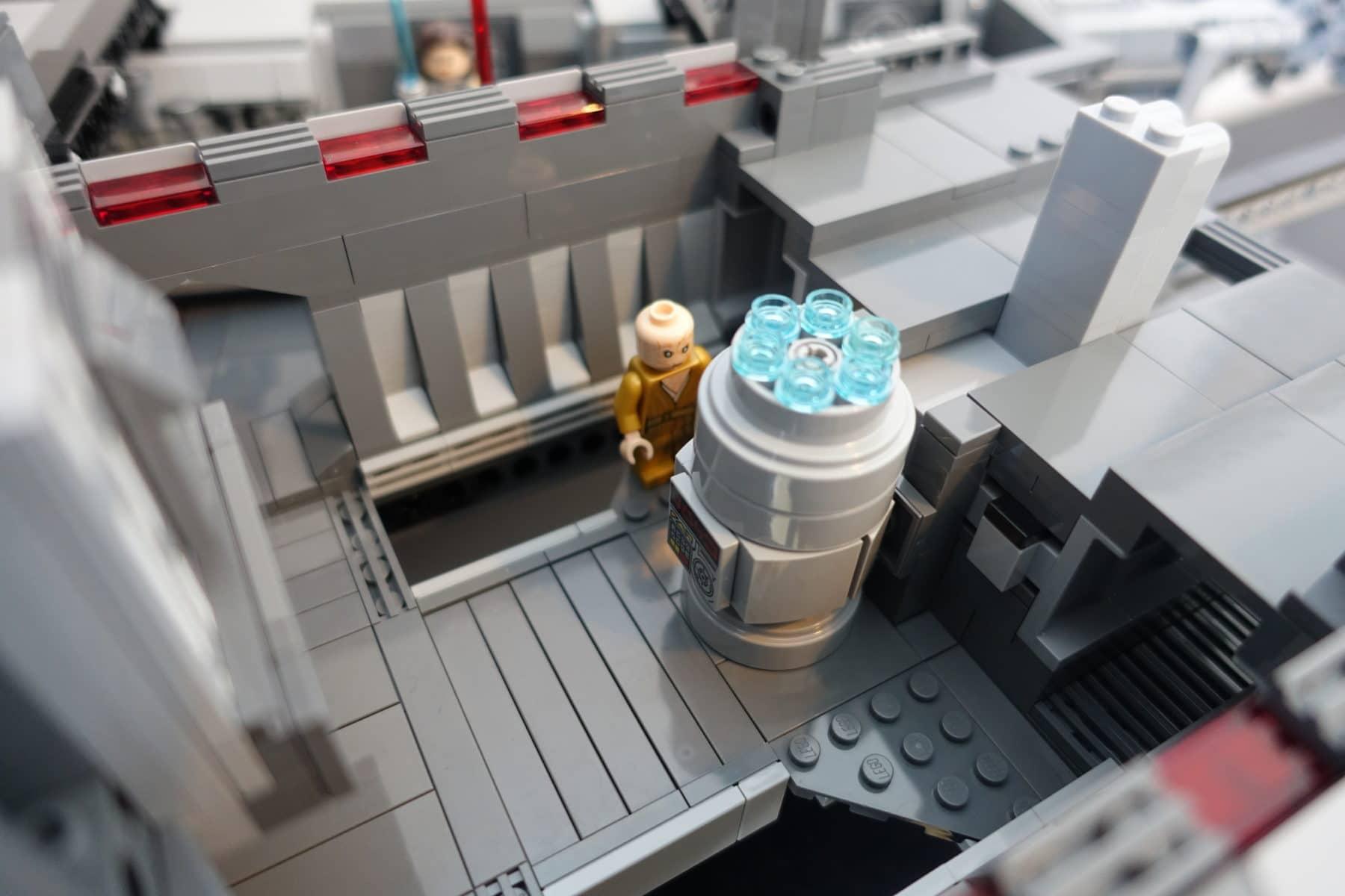 Reaktorraum des LEGO MOC Imperial Star Destroyers