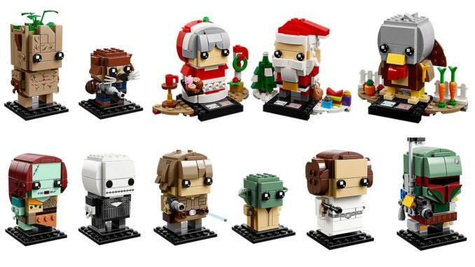 LEGO Neuheiten Oktober 2018: BrickHeadz
