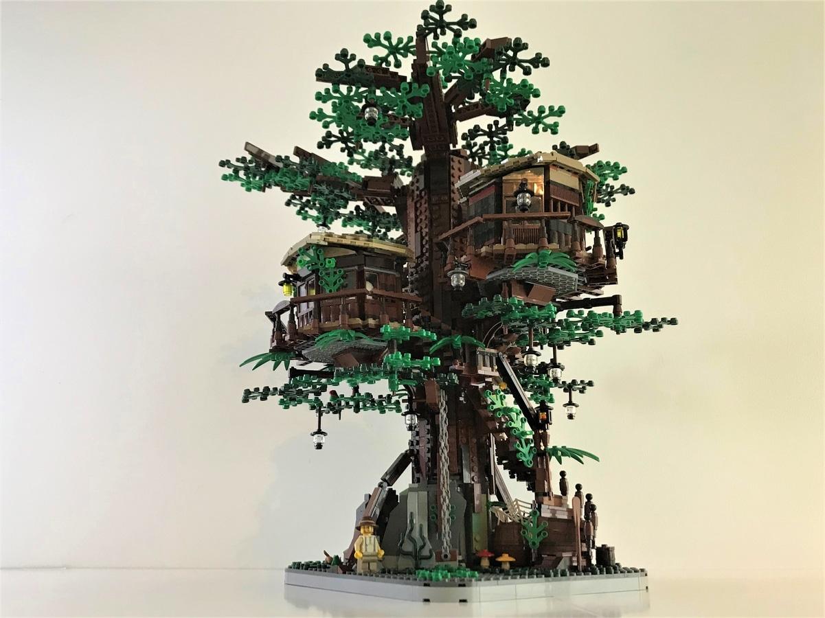 LEGO Ideas 21318 Baumhaus Entwurf