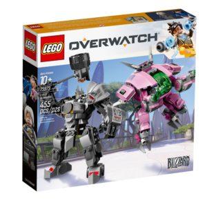 LEGO Overwatch 75973 D.VA und Reinhardt