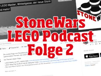 StoneWars LEGO Podcast Folge 2