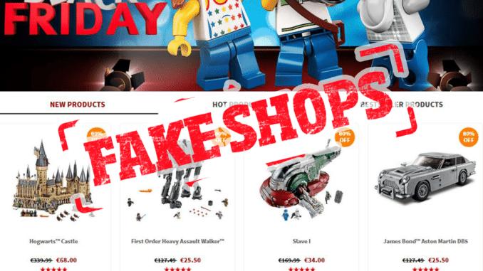 Fake Shops LEGO