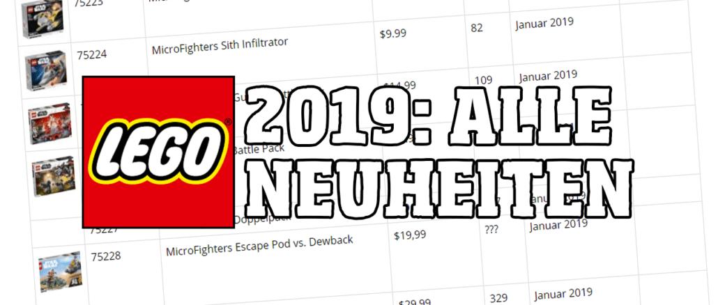 LEGO 2019 Neuheiten