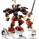 LEGO 70LEGO 70665 The Samurai Mech666 The Golden Dragon