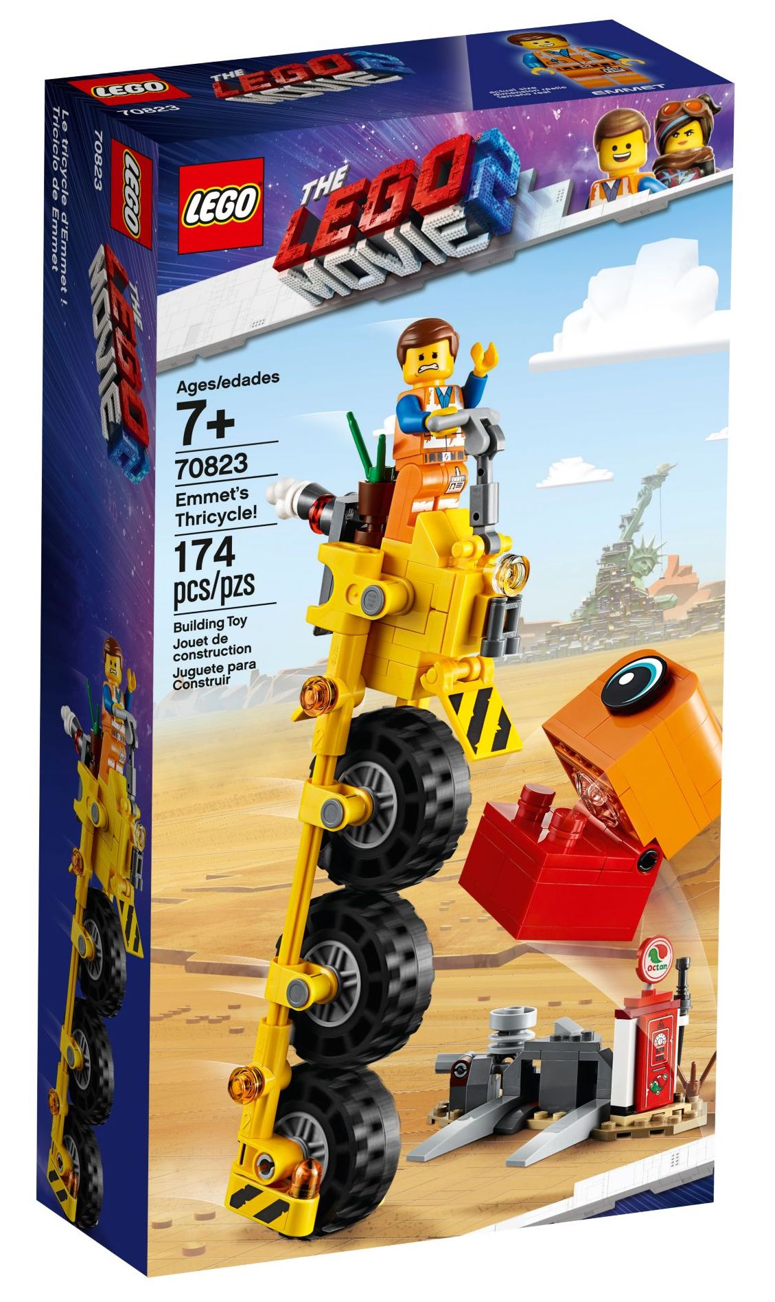 LEGO 70823 Emmet's Thricycle