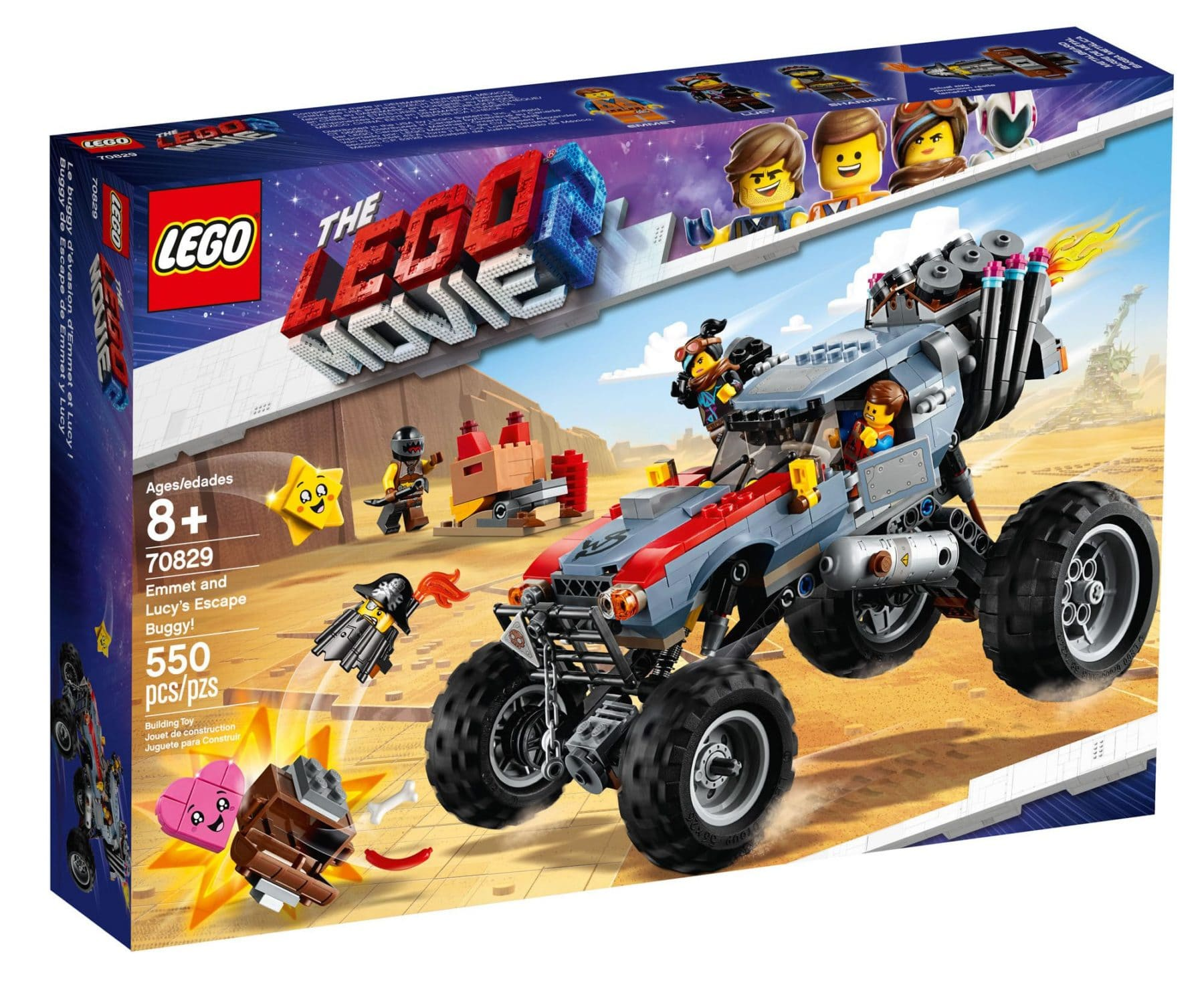 LEGO 70829 Emmet And Lucy's Escape Buggy