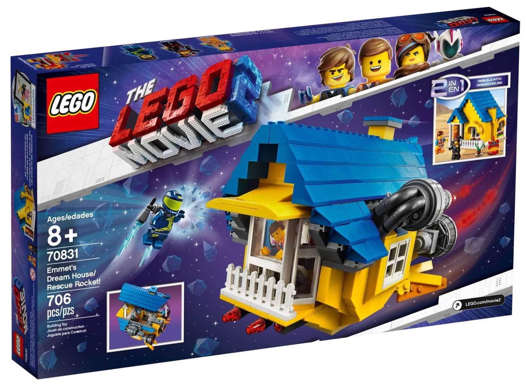 LEGO 70831 Emmet's Dream House / Resque Rocket