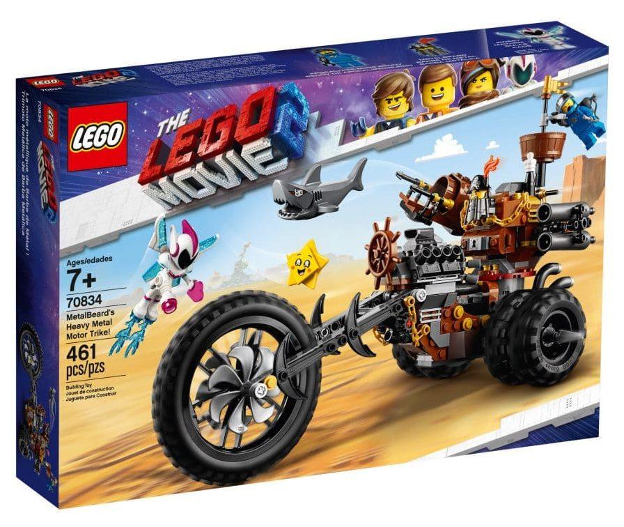 LEGO 70834 Metalbeard's Heavy Metal Motor Trike