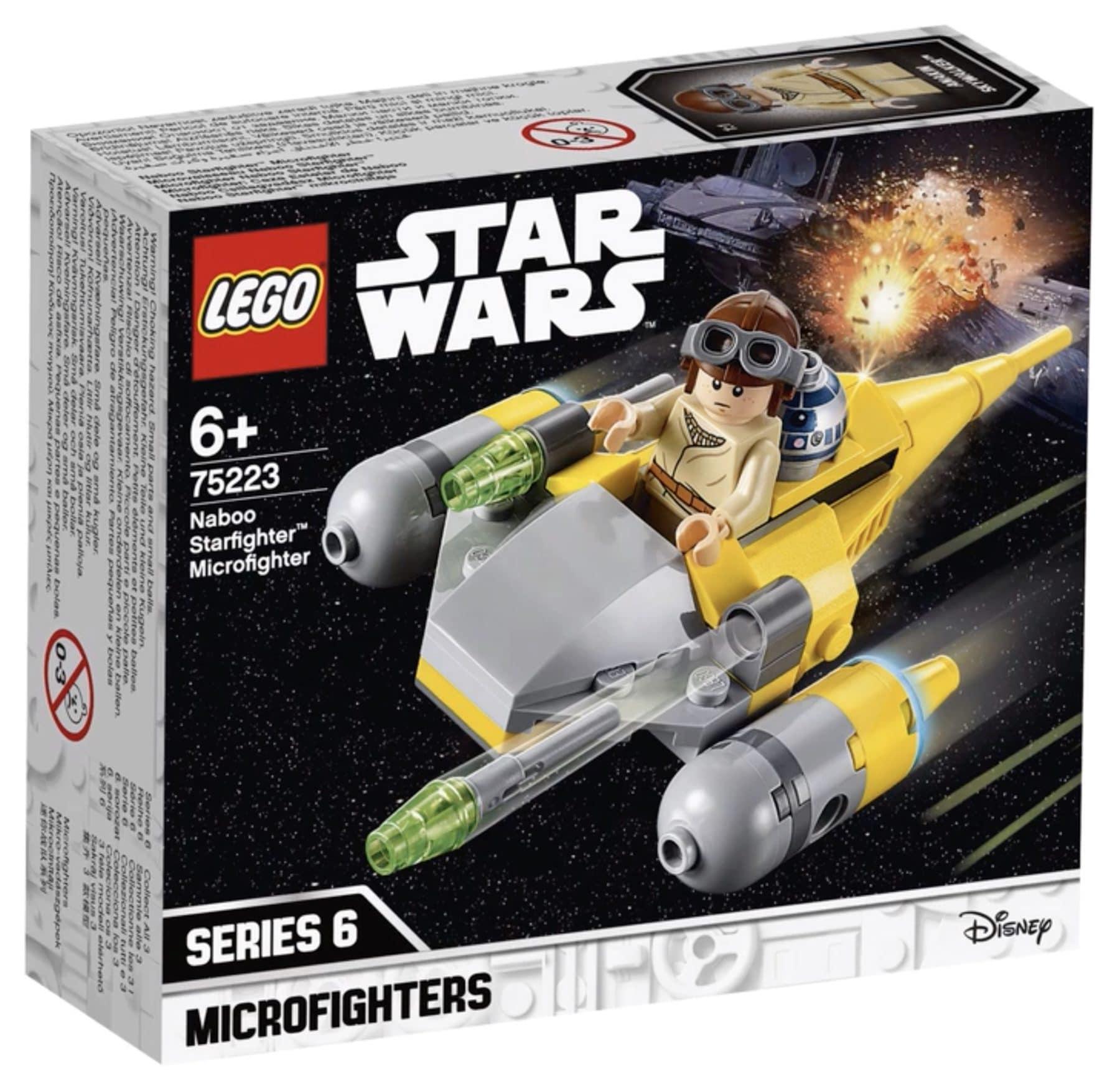 LEGO 75223 Naboo Starfighter Microfighter