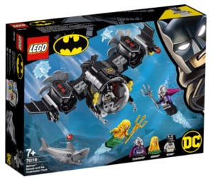 LEGO 76116 Batman Batsub Underwater Clash