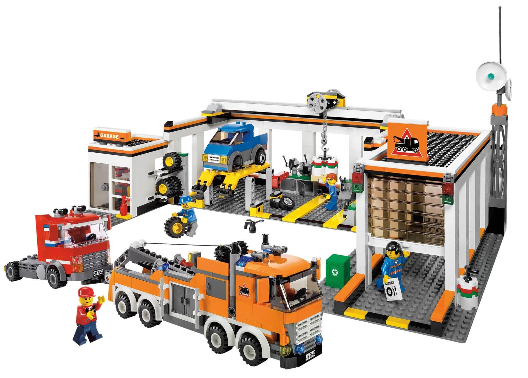 LEGO City 7642 Autowerkstatt