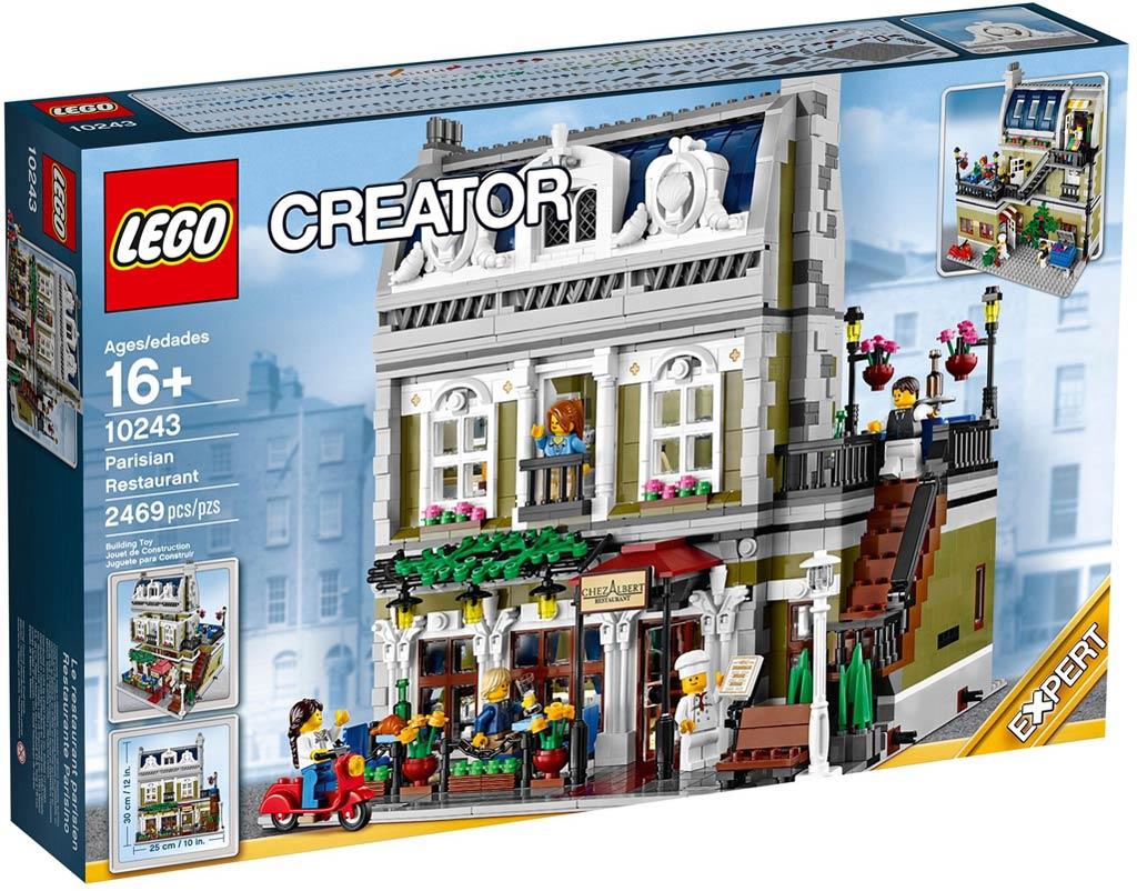 LEGO Modular Building 10243: Parisian Restaurant
