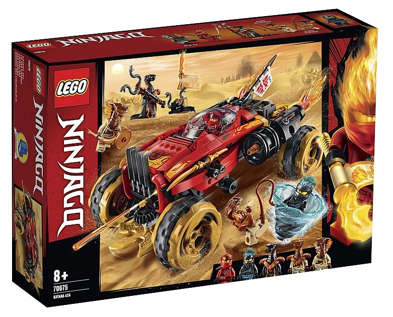LEGO Ninjago 70675 4x4 Katana